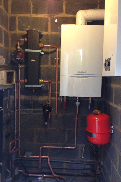 Boiler install | Castle Heating Kent | Snodland gas, plumbing & heating services