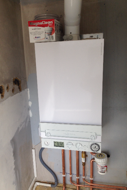 New boiler install | Castle Heating Kent | Snodland gas, plumbing & heating services